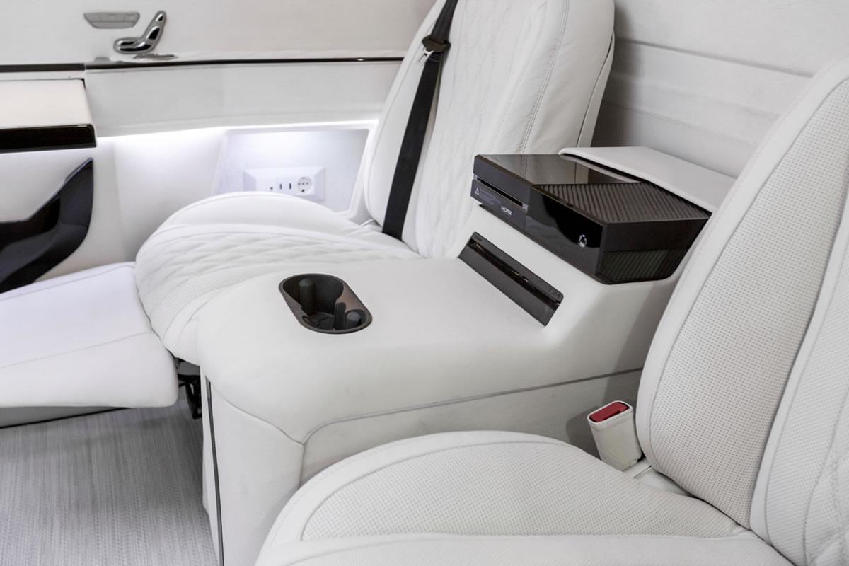 Ertex Luxury Car Design Vip Premium Private Jet Van