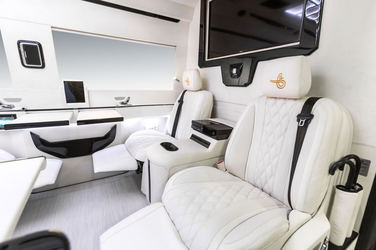 Ertex Luxury Car Design Vip Premium Private Jet Van