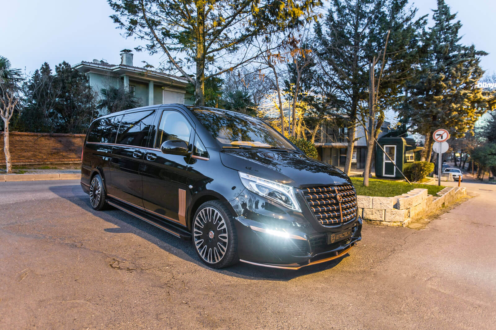 Ertex Luxury Car Design Modeller Uzatilmis V Class Vito